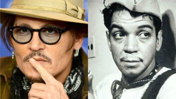 Johnny Depp y Cantinflas