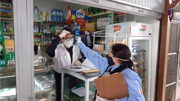 Municipalidad de Miraflores destacó el trabajo en el mercado Santa Cruz.