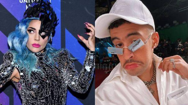 Bad Bunny se volvió tendencia por mencionar a Lady Gaga en una canción que lanzó Anuel AA.