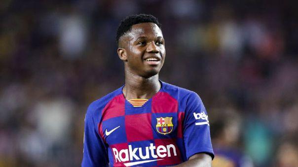 Ansu Fati lleva 4 goles en 16 partidos disputados esta temporada