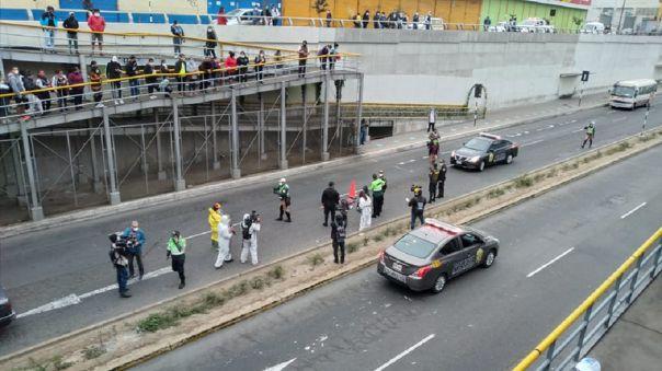 Cruce de las Avenidas Grau y Andahuaylas