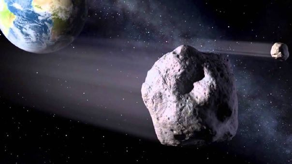 Los asteroides representan una amenaza para la Tierra.