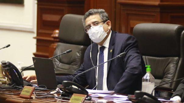 Manuel Merino de Lama negó tener injerencia en los contratos realizados por sus familiares con el Estado.