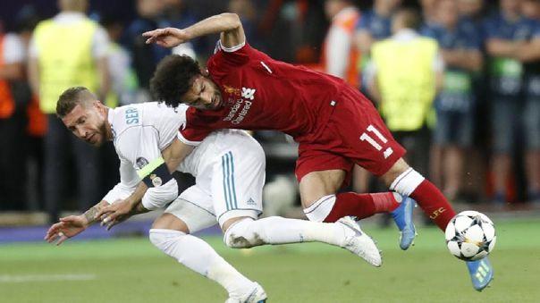 El fichaje del Real Madrid que se frustró por la entrada de Sergio Ramos a Mohamed Salah
