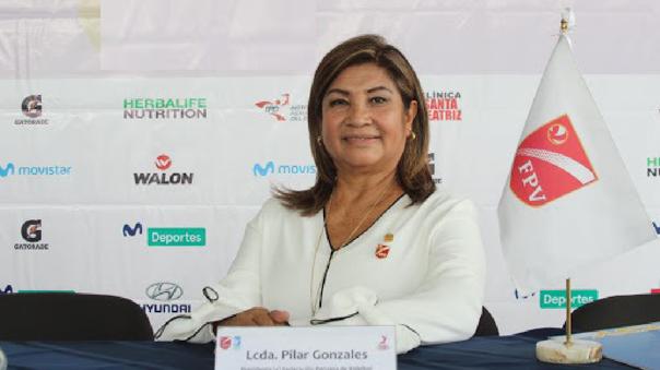 Pilar Gonzales, presidente de la FPV, confía en el retorno del voleibol