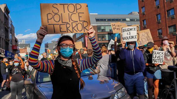 USA NEW YORK GEORGE FLOYD DEATH PROTEST