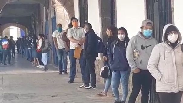 Venezolanos en Cusco