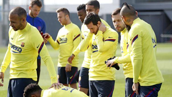 Barcelona fue el primer equipo de LaLiga en retornar a los entrenamientos tras la pandemia