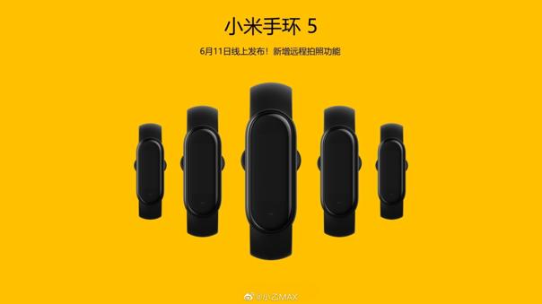 Xiaomi anuncia la presentación de la Mi Band 5