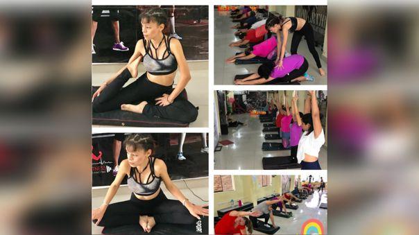 Venezolana comparte clases de yoga para familias en cuarentena