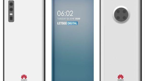Huawei apunta a la cámara bajo la pantalla.