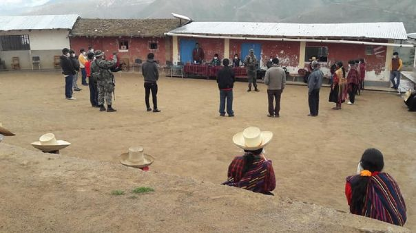 Rondas campesinas se unen a trabajo preventivo junto a las Fuerzas Armadas