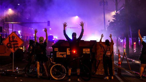 Las protestas contra el racismo tras la muerte de George Floyd se han intensificado