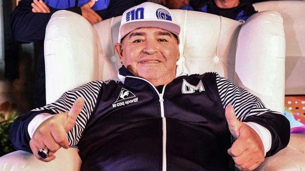 Maradona consiguió en 3 victorias, 1 empate y 1 derrota en sus últimos cinco encuentros en Gimanasia y Esgrima La Plata