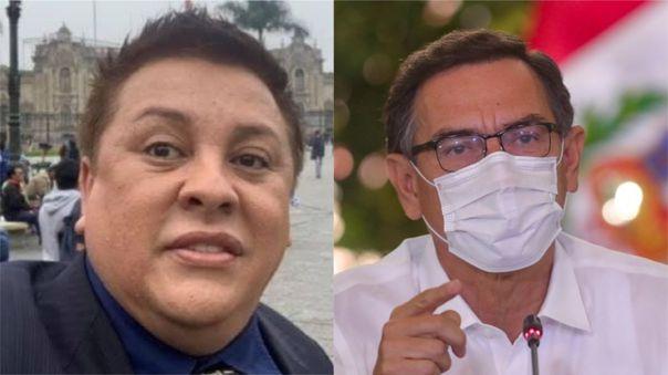 Vizcarra negó haber recomendado a Richard Cisneros en el Ministerio de Cultura.