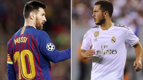 Hugo Orlando Gatti cree que el belga Eden Hazard está a la altura de Lionel Messi