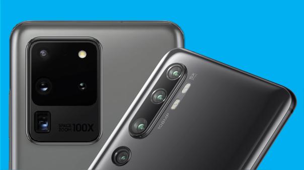 El S20 Ultra y el Mi Note 10 llevan el mismo sensor de 108MP