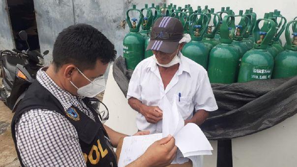 El presidente se refirió a la venta de oxígeno medicinal.