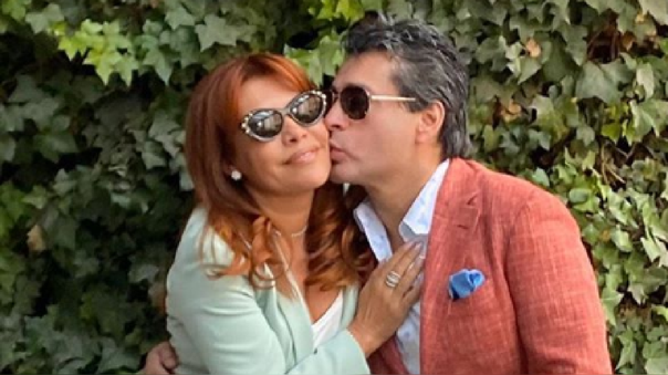 Magaly Medina recordó el día en que su esposo le pidió matrimonio.
