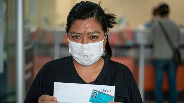 BCP reliazó campaña para beneficiar a personas durante la pandemia.