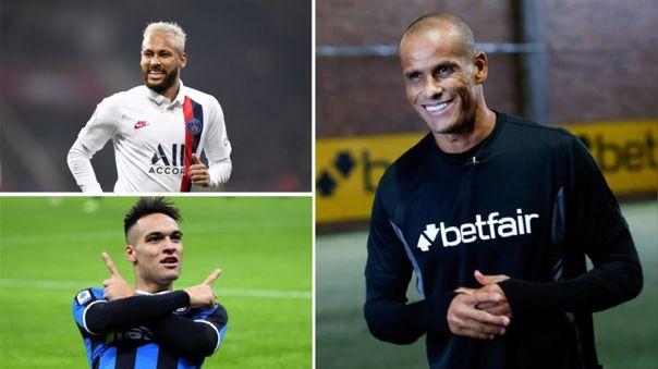 "Rivaldo aconseja al club azulgrana: ""Deben elegir entre Neymar o Lautaro"