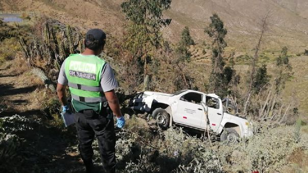 Dos trabajadores de salud fallecieron en accidente de tránsito