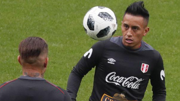 Christian Cueva fichó por Pachuca de México en febrero del 2020