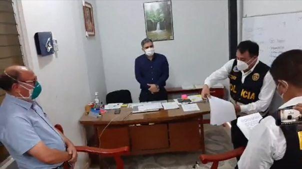Policía Anticorrupción intervino oficinas de la dirección regional de Salud