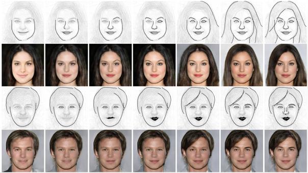 Esta IA permite convertir bocetos en fotos realistas