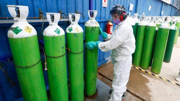 Equipo del Minsa identificará las necesidades de oxígeno medicinal en todo el país.