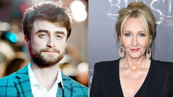 Daniel Radcliffe le respondió a J.K. Rowling por sus comentarios sobre los trans