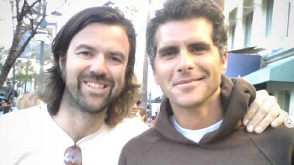 Pau Donés y Christian Meier