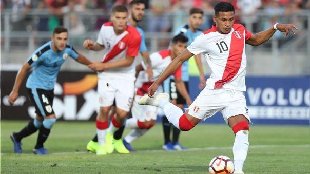 Fernando Pacheco con la Selección Peruana en el Preolímpico 2020
