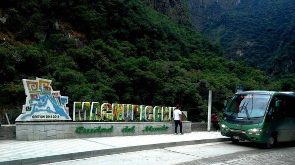 Machu Picchu pueblo.