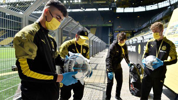 La Bundesliga fue la primera liga de Europa en retornar tras la pandemia del coronavirus