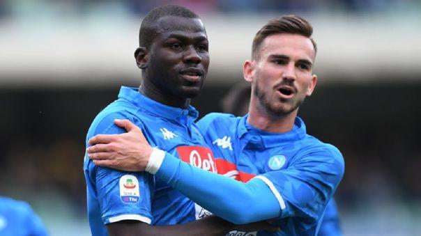 Napoli no dejará ir a Fabián Ruiz y Kalidou Koulibaly al Real Madrid