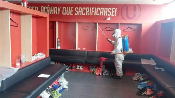 Sedes de Universitario de Deportes fueron fumigadas de cara al reinicio de los entrenamientos