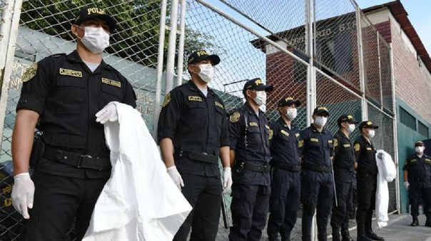 Pandemia de la COVID-19 redujo personal policial