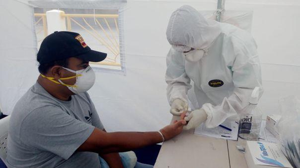 Trabajadores infectados
