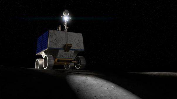 VIPER llegará a la Luna en 2023 para buscar agua congelada en el Polo Sur del satélite