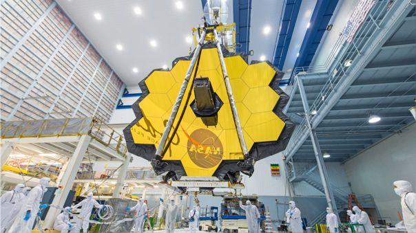 El telescopio será el sucesor científico del Hubble y el Spitzer.