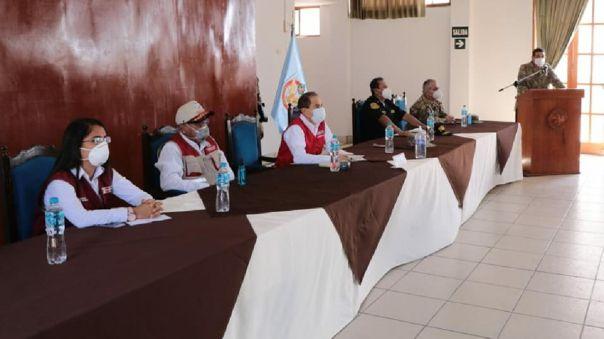 Ministro de defensa se pronuncia sobre la cuarentena en Lambayeque