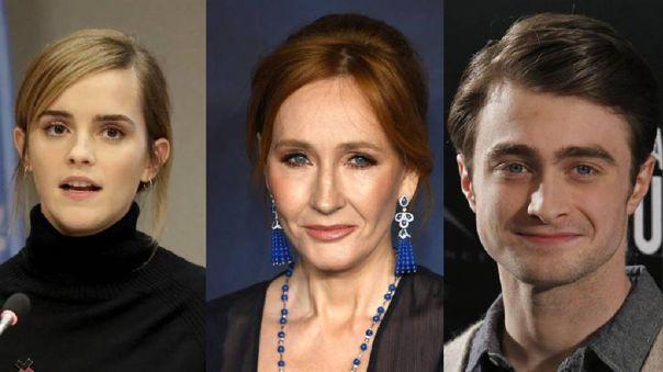 Daniel Radcliffe y Emma Watson, los principales detractores de JK Rowling