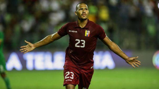 Delantero venezolano Salomón Rondón confesó que quiere jugar en Boca Juniors