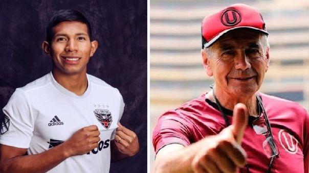 Edison Flores agradeció a Gregorio Pérez por el excelente trabajo que realizó en Universitario