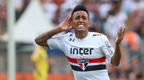 Christian Cueva confesó que le gustaría tener una segunda oportunidad en Sao Paulo