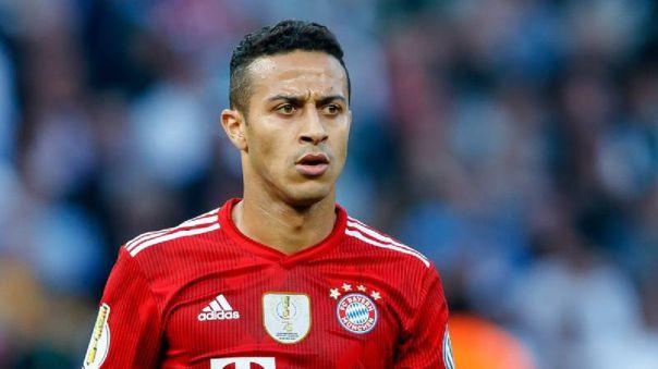 Thiago Alcántara se someterá a operación en la ingle: Bayern confirmó el tiempo de baja