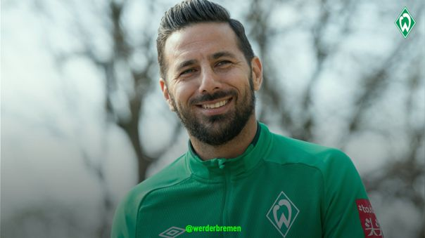 Claudio Pizarro no ha marcado con el Werder Bremen en la actual Bundesliga