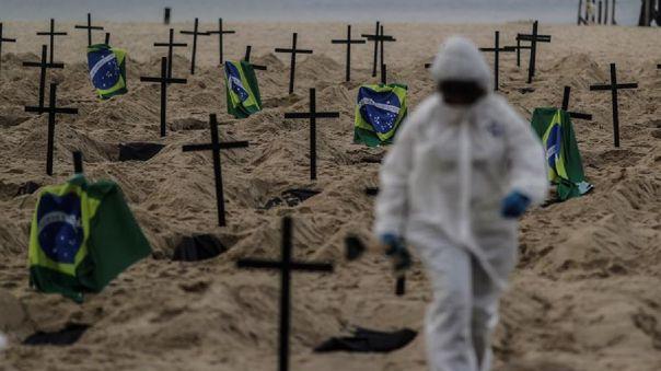 Brasil ha sumado 42 720 decesos desde que se detectó el primer caso de coronavirus.
