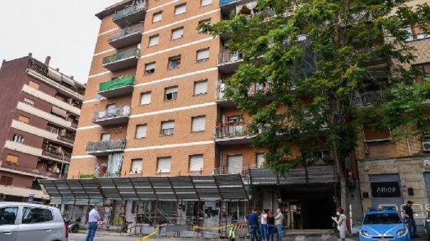 Un segundo foco apareció en un edificio ocupado de forma ilegal en un barrio periférico del sur de Roma, en Garbatella